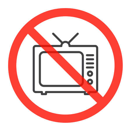 Image result for no tv clipart