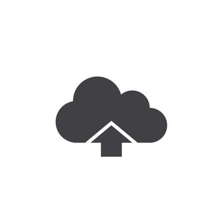 0afce323d cloud upload icon vector