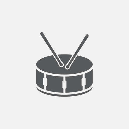 snare: snare drum icon Illustration