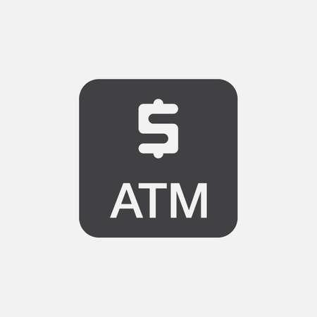 cash money: Atm icon Illustration