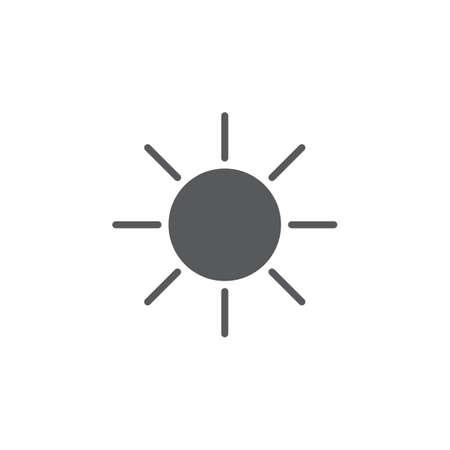 sun: Sun icon Illustration