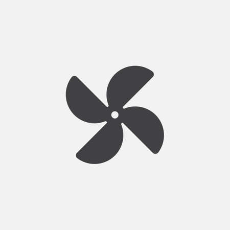 wind mill toy: pinwheel icon