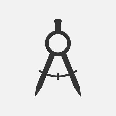 architect drawing: Divider Icon Vector