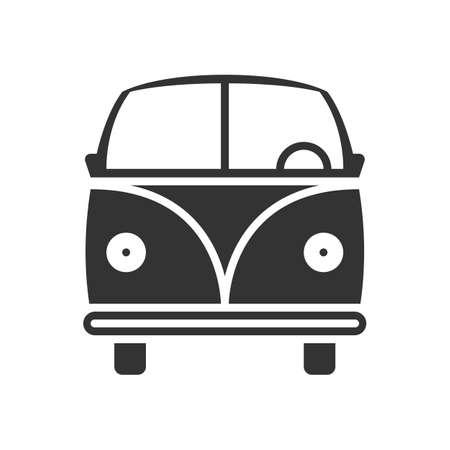 Icône de bus de voyage Banque d'images - 76776461