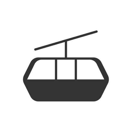 Cableway icon.
