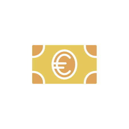 pixel perfect: Money, dollar banknote icon vector, filled flat sign, solid colorful pictogram isolated on white. Symbol, logo illustration. Pixel perfect Illustration