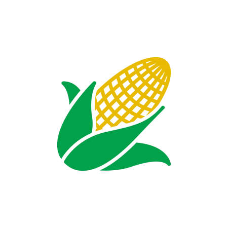 Maize, Corn icon vector, filled flat sign, solid colorful pictogram isolated on white, logo illustration