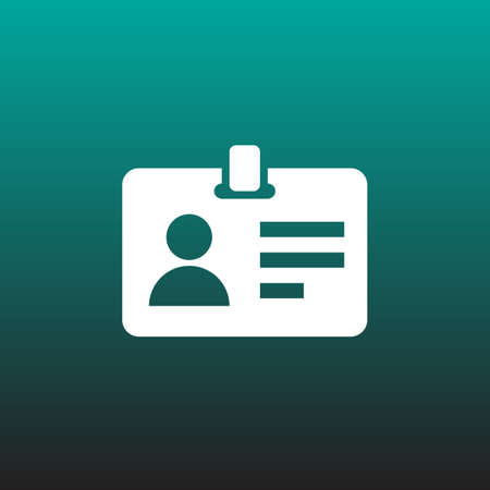 pass vector icon
