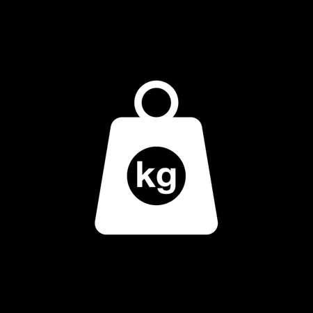 kg vector icon