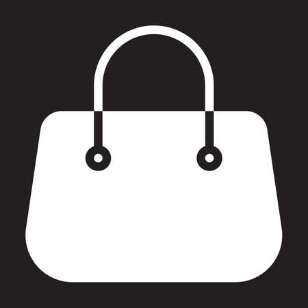 Purse handbag icon, vector illustration