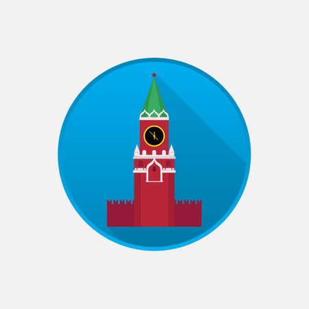 Kremlin icon Illustration