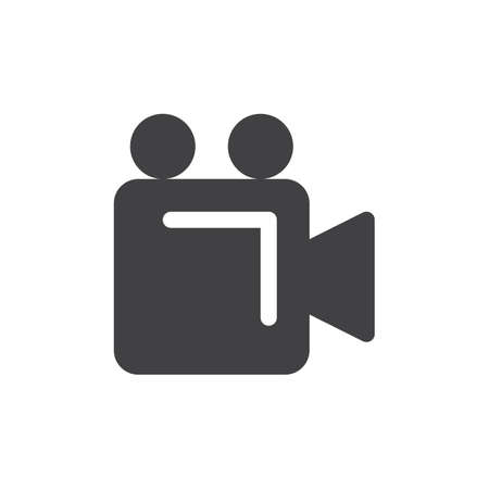 video camera simple icon vector filled flat sign solid glyph rh 123rf com instagram video icon vector video icon vector ai