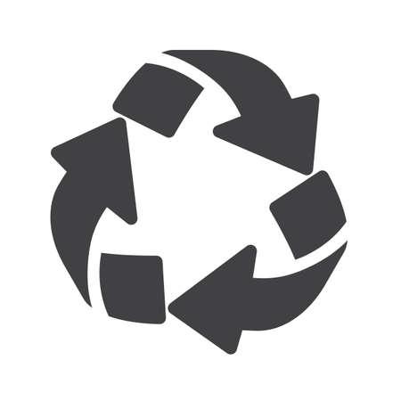 Recycling icon. Çizim