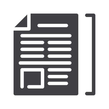 sheet: Article icon.