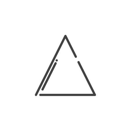 Bleach line icon, outline vector sign, linear style pictogram isolated on white. Symbol, logo illustration. Editable stroke