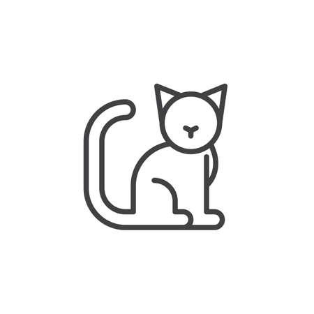 Feline icon 版權商用圖片 - 87274740