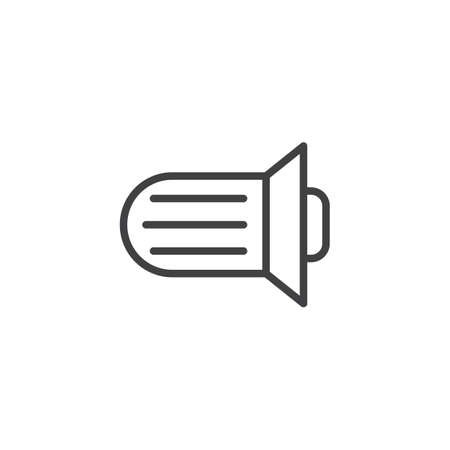 Transmission line icon. Illustration