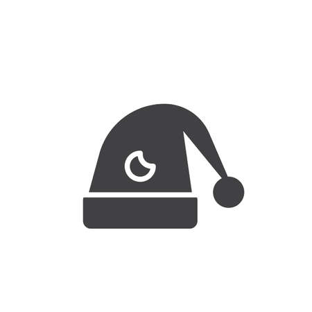 Hat for sleep icon.