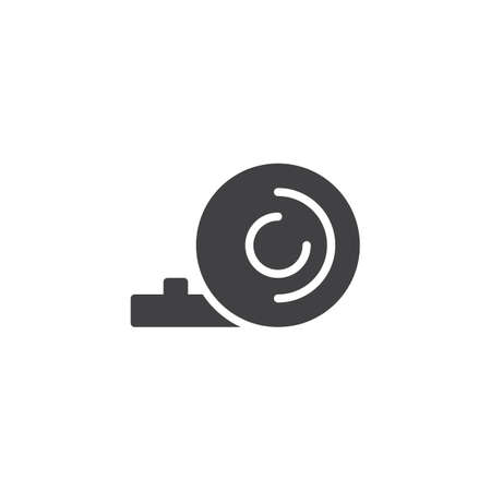 Party blower vector icon. filled flat sign for mobile concept and web design. Popper whistle simple solid icon. Symbol, logo illustration. Pixel perfect vector graphics
