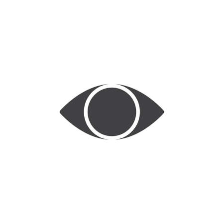 Cataract eye vector icon. filled flat sign for mobile concept and web design. Blind eye simple solid icon. Optometrist  symbol, logo illustration. Pixel perfect vector graphics