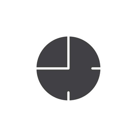 Timer clock vector icon. filled flat sign for mobile concept and web design. Watch time simple solid icon. Symbol, logo illustration. Pixel perfect vector graphics Stock Photo