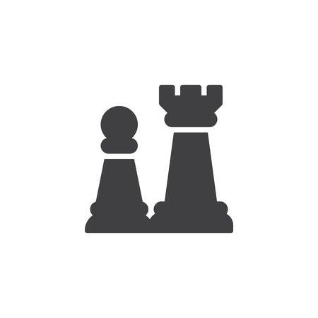 Chess piece vector icon. filled flat sign for mobile concept and web design. Chess game simple solid icon. Symbol, logo illustration. Pixel perfect vector graphics