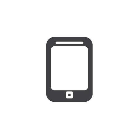 Smartphone, phone vector icon. filled flat sign for mobile concept and web design. Mobile phone glyph icon. Telephone symbol, logo illustration. Pixel perfect vector graphics