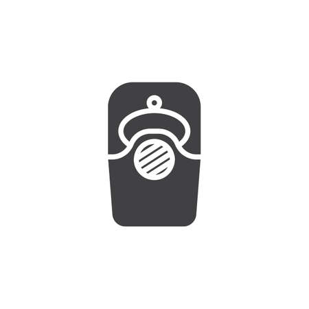 Intercom vector icon. filled flat sign for mobile concept and web design. video doorbell glyph icon. Home security system symbol, logo illustration. Pixel perfect vector graphics