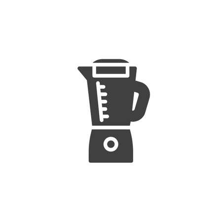 Blender vector icon. filled flat sign for mobile concept and web design. Electric blender glyph icon. Symbol,  illustration. Vector graphics