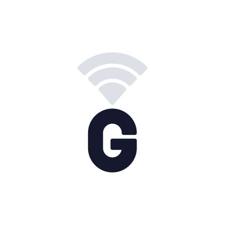 GPRS network connection flat icon