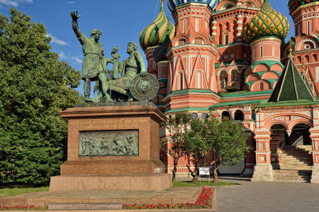 minin: Monument citizen Minin and Prince Pozharsky Editorial