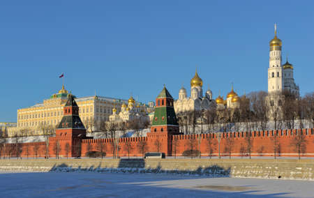 Moscow Kremlin from the Moscow-River embankment photo