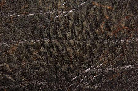 leatherette: Leatherette old worn