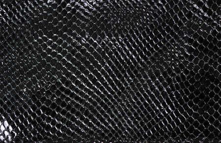 imitation leather: Lacquered black imitation leather, background