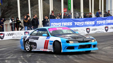 masters: Drift racing car. RTR Show of Masters
