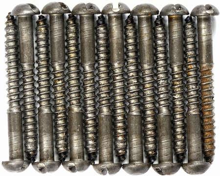 tornillos: Tornillos Foto de archivo