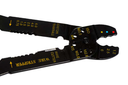 cable cutter: Wire stripper Stock Photo