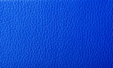 leather background: Texture blue artificial leather, background Stock Photo