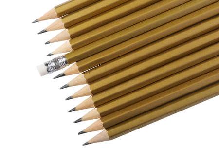 grafit: Graphite pencilsa of golden color
