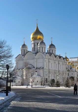 View the Cathedral of St. Arhistratiga Michael (Cathedral of the Archangel, 1505?1508)  Moscow Kremlin Editorial