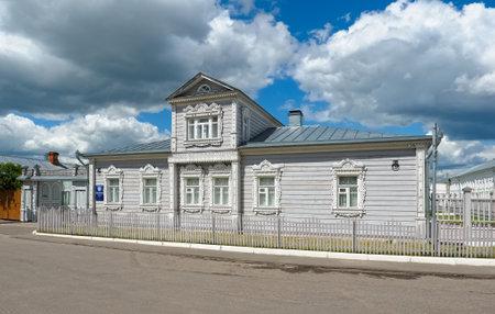 Kolomna, Russia - June 09, 2018: Kolomna Kremlin, view of the house of the merchant-oilman Lvov, 19th century, landmark Editoriali