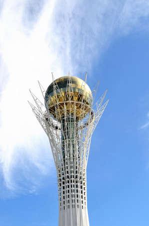 astana: Bayterek Tower in Astana. symbol of Kazakhstan