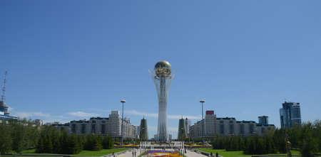 astana: Bayterek Tower in Astana. Kazakhstan