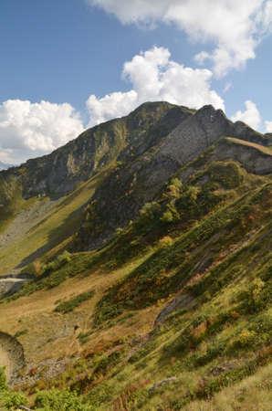 Посмотреть на вершине каменного столба Сочи, Россия