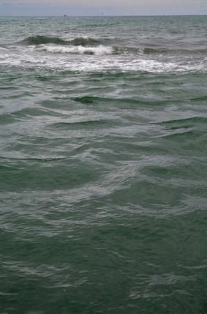 Вид на пляж в Сочи, Россия Фото со стока