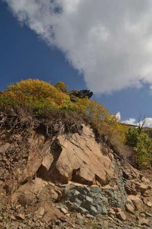 View of the mountain top. Sochi, Russia