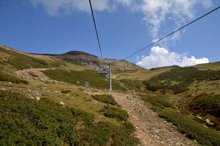 Вид на вершине горы. Сочи, Россия