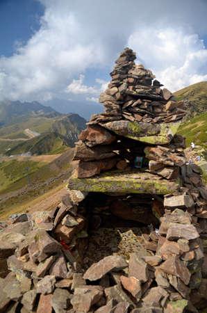 Вид с вершины каменного столба Сочи, Россия
