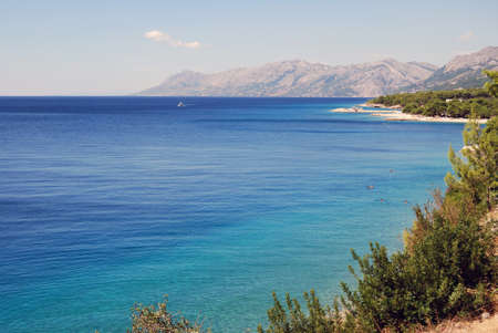 Adriatic sea, Brela, Croatia