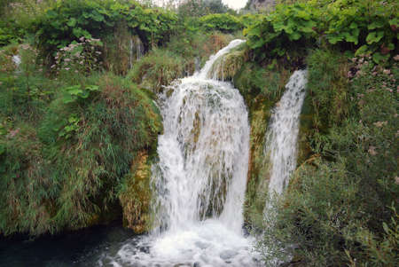 Plitvice, Lakes, Groatia Фото со стока - 101748536
